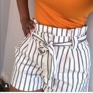 NWT Zara striped shorts